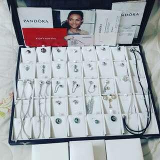 Preloved pandora + charms