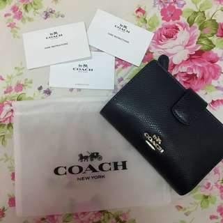 Coach small wallet Navy