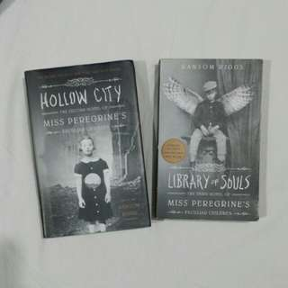 2 for 650! Miss Peregrine's books 2 & 3