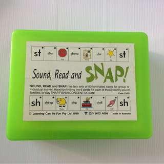 ✳️ Snap - Sound, Read & Snap