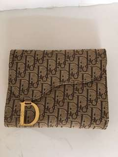 Authentic vintage Dior wallet