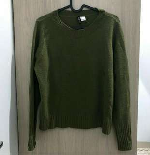 Sweater hnm army