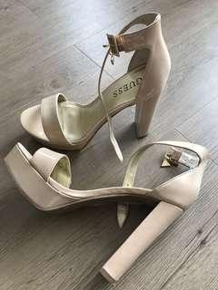 Nude Guess Heels