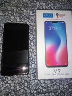 Semi Brandnew Vivo V9 Gold Complete 64GB