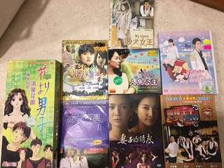 DVDs Taiwan/Korean Drama