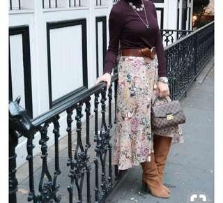 Zara wrap around skirt