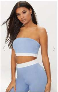 Pretty Little Thing Blue Co-Ord Set