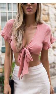 Crop top from Dolly Girl Fashion