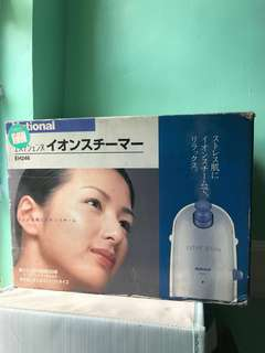 National Ionic Face Steamer (from Japan)