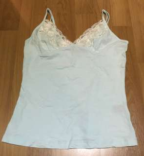 #list4sbux Arcadia Light Blue sleeveless with lace