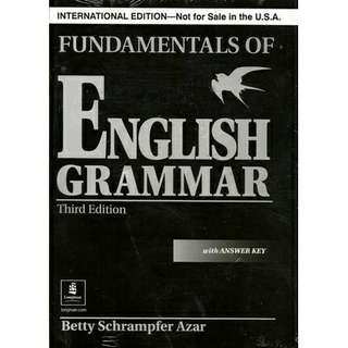 English Grammar Betty Azar