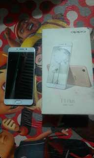 Oppo f1 plus 4/64 fullset 4g normal 100%