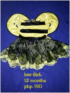 Bee costume 1yrs old