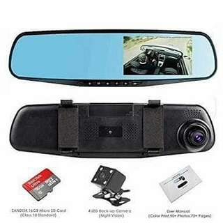 Car dvr touch screen