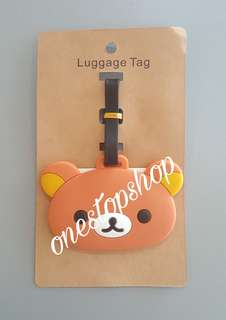 Shop : RILAKKUMA TRAVEL LUGGAGE BAG TAG