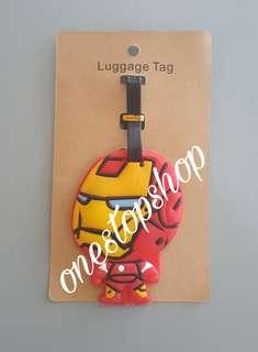 Shop : IRON MAN TRAVEL LUGGAGE BAG TAG