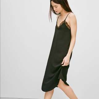 Aritzia Babaton Townsend slip dress size small