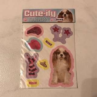 Puppy Stickers