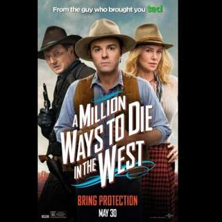 [Rent-A-Movie] A MILLION WAYS TO DIE IN THE WEST (2014)
