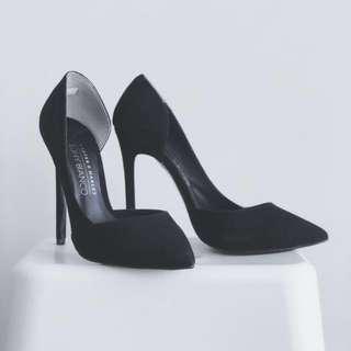 tony bianco suede heels