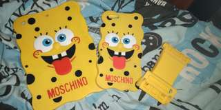 Spongebob iPad & iPhone/F1s Case w/standee