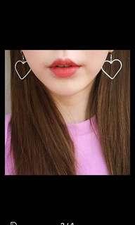 Harajuku style cute heart earring