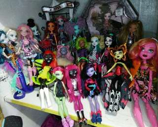 Monsther high collectible dolls set 20k take all