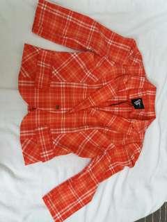 Checkered casual/office blazer