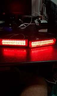 Lampu accessori merah lampu malam dan brek kelip-2