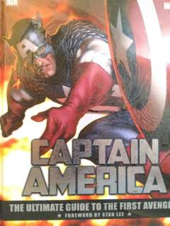 Marvel Captain America - The Ultimate Guide To The First Avenger