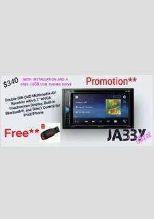 Pioneer AVH-A205BT promotion