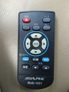 🚚 Alpine汽車音響遙控器