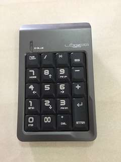 Numeric Keypad with retractable USB