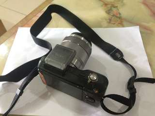 Sony Nex 3 with 18-55 kit lens