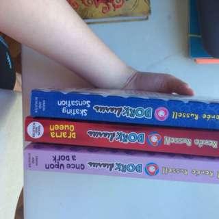 Pre loved dork diaries book
