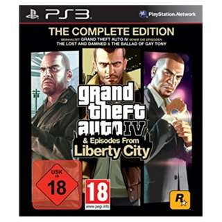 PS3 Grand Theft Auto IV & Episodes from Liberty City The Complete Edition