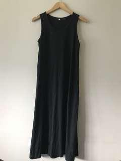 Muji Black Maxi Dress