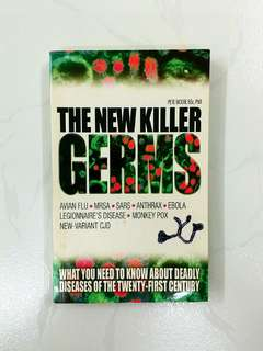 The New Killer Germs by Pete Moore, 256 pages (Adult Non-Fiction Disease Medical Reference)