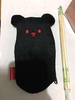 🚚 熊熊零錢包一組三個/置物包/拉鍊包/7-11換購商品