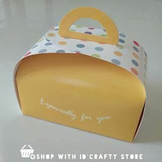 [PROMO | inStock] Yellow Dot Handle Boxes