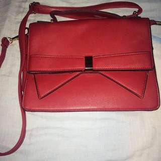 FREONG-Red Sling Bag Korea