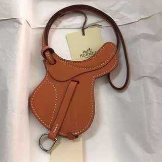 Hermes Saddle Bag Charm