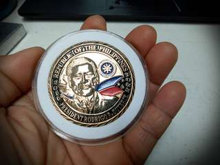 Pres.Duterte Commemorative Coin
