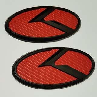 KIA K logo emblem