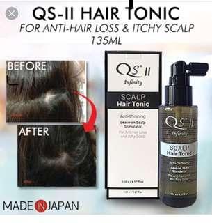 Qs II hair tonic