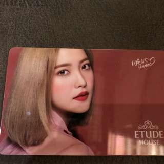 Red Velvet Photocard Etude House