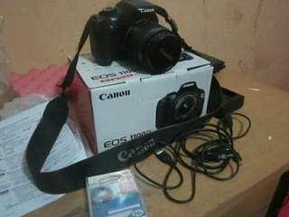 JUAL Butuh Camera DSLR Canon EOS 1100D .