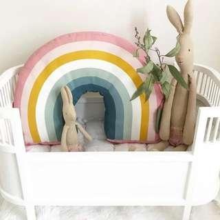 Head In The Rainbow Cushion Headrest