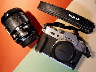 Fujifilm XT10 (18-55mm kit)
