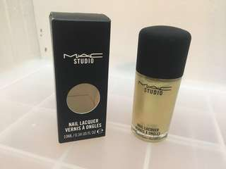 """FREE WITH PURCHASE - BNIB MAC Nail Lacquer in """"Green-Pearl"""""""